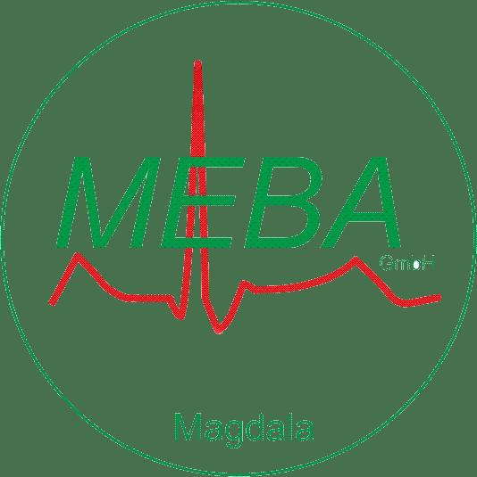 Logo MEBA in Magdala